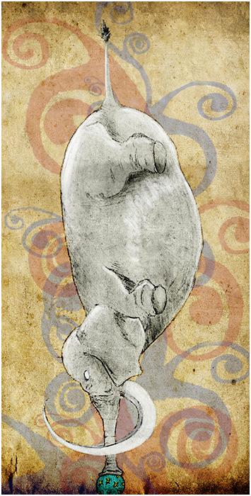 Elefanquilibre by samuelmaurin