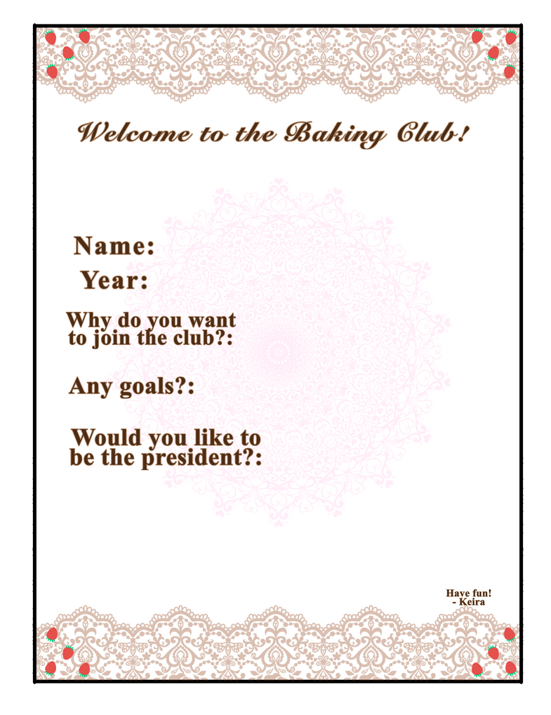 baking club sign up sheet by little missing ghost on deviantart