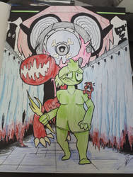 Awful Hospital fan art *kept from you* by chungusTHF
