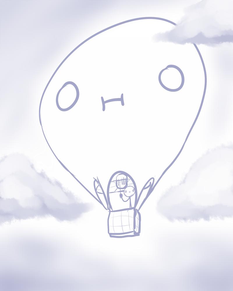 Awkward Balloon by Kaboozle