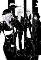 Bleach - Back in black by Blychee