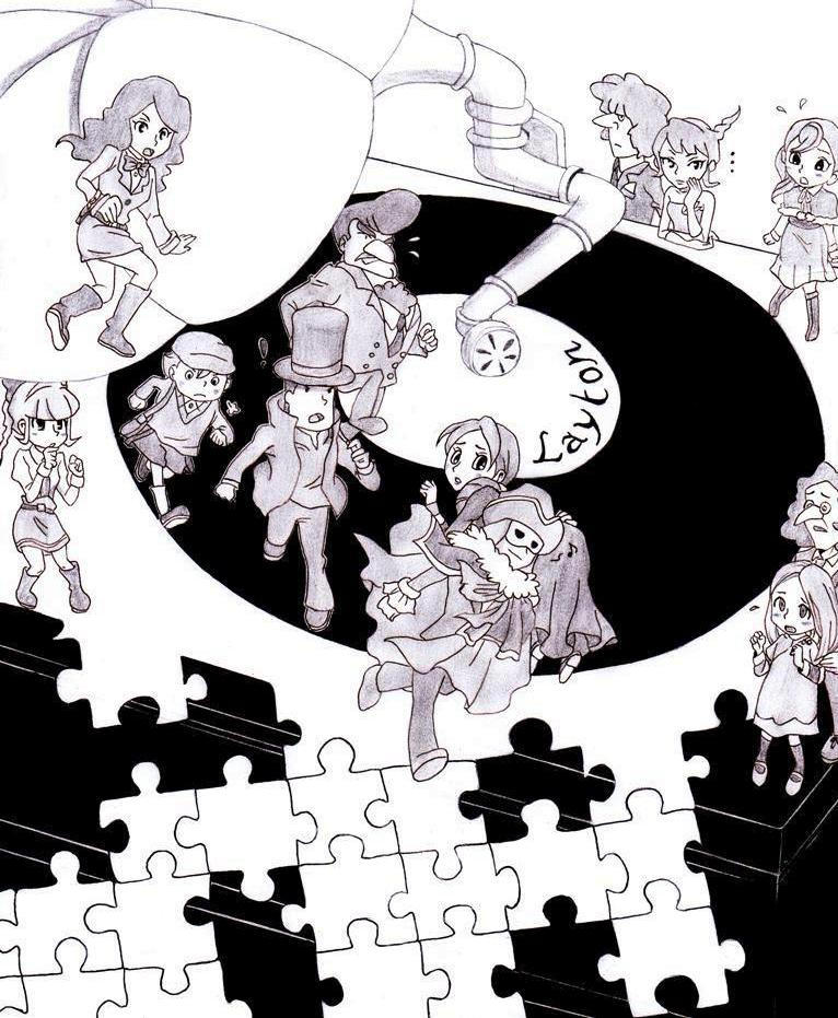 Professor Layton The Rescue Of The Eternal Diva By Blychee On