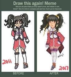 Draw It Again Meme - Anise Tatlin by Choco-loli