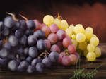 The legend of the origin of the grapes. by DandelionPawPrint