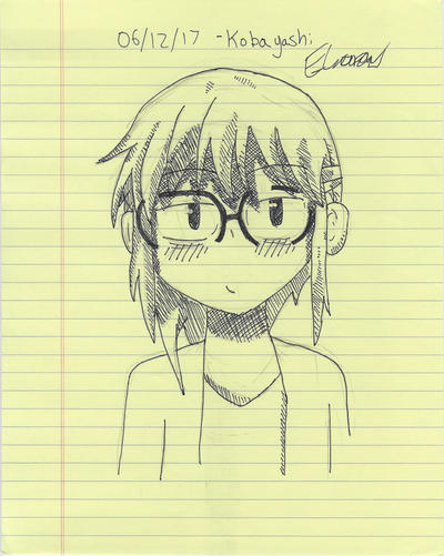06/12/17 Miss Kobayashi by DawnAuroua
