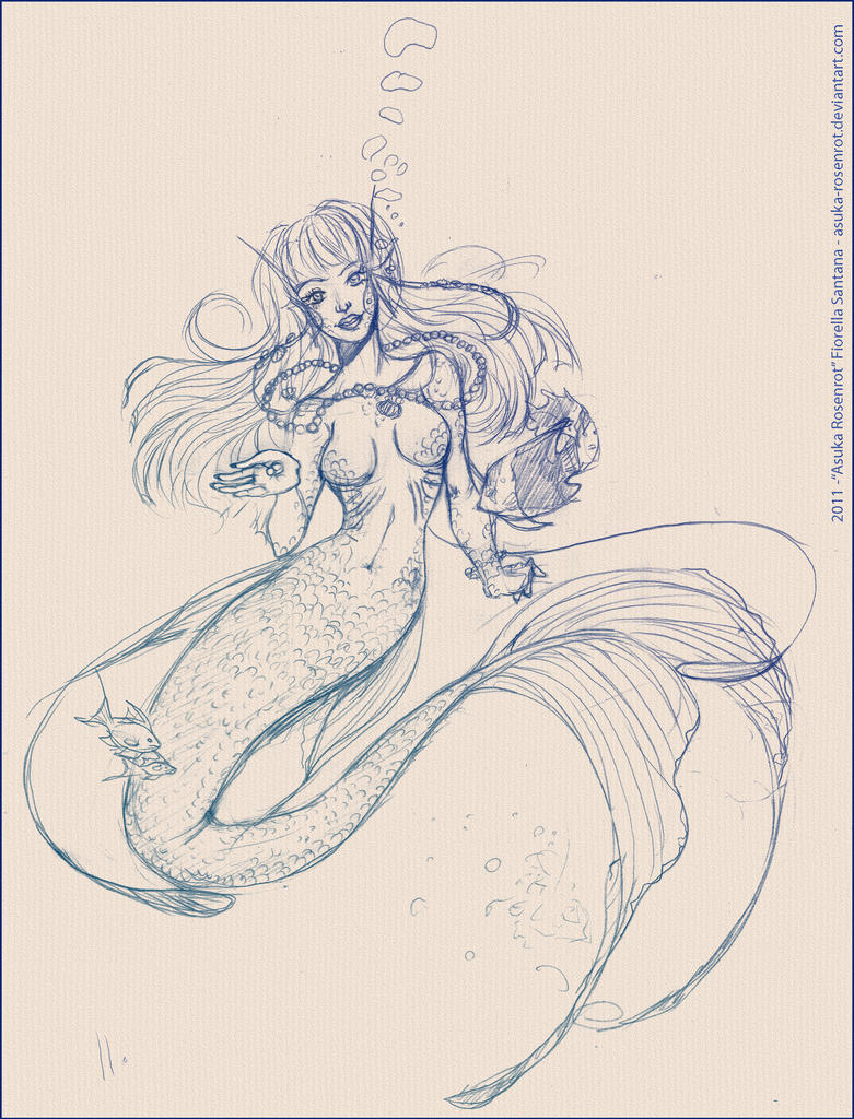 Displaying 19> Images For - Easy Pencil Drawings Of Mermaids... Easy Drawings Of Tom And Jerry
