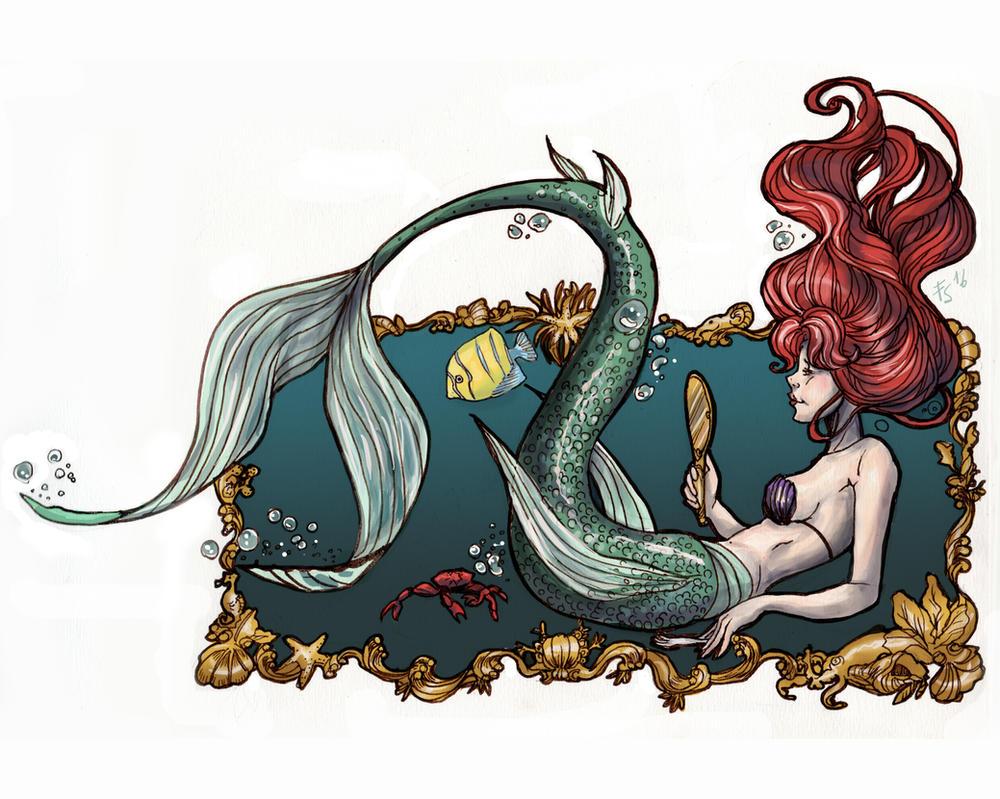 Ariel by fiorellasantana