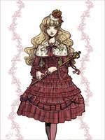 Royal Tea Party Lolita by fiorellasantana