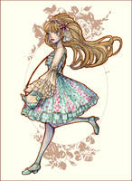Lolita on the move by fiorellasantana