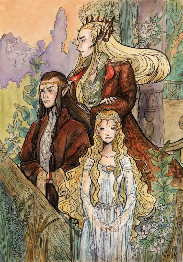 Elves Royalty by fiorellasantana