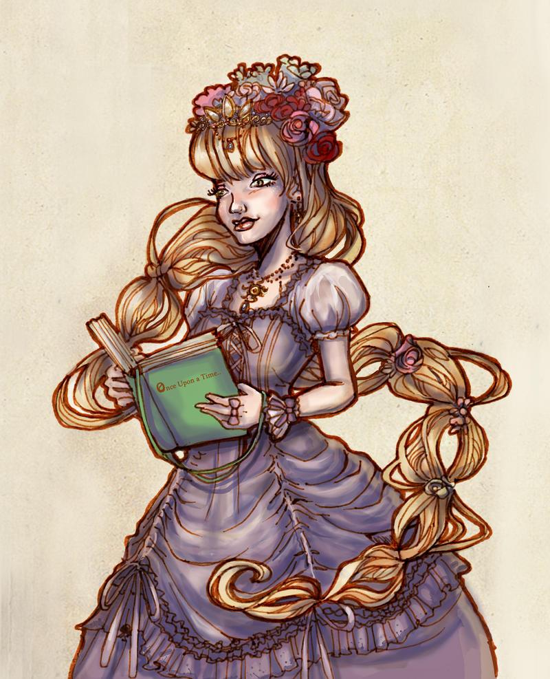 Rapunzel Lolita by fiorellasantana