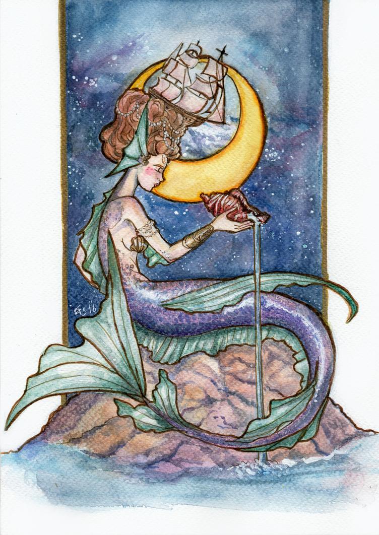 Stellar Sailor by fiorellasantana