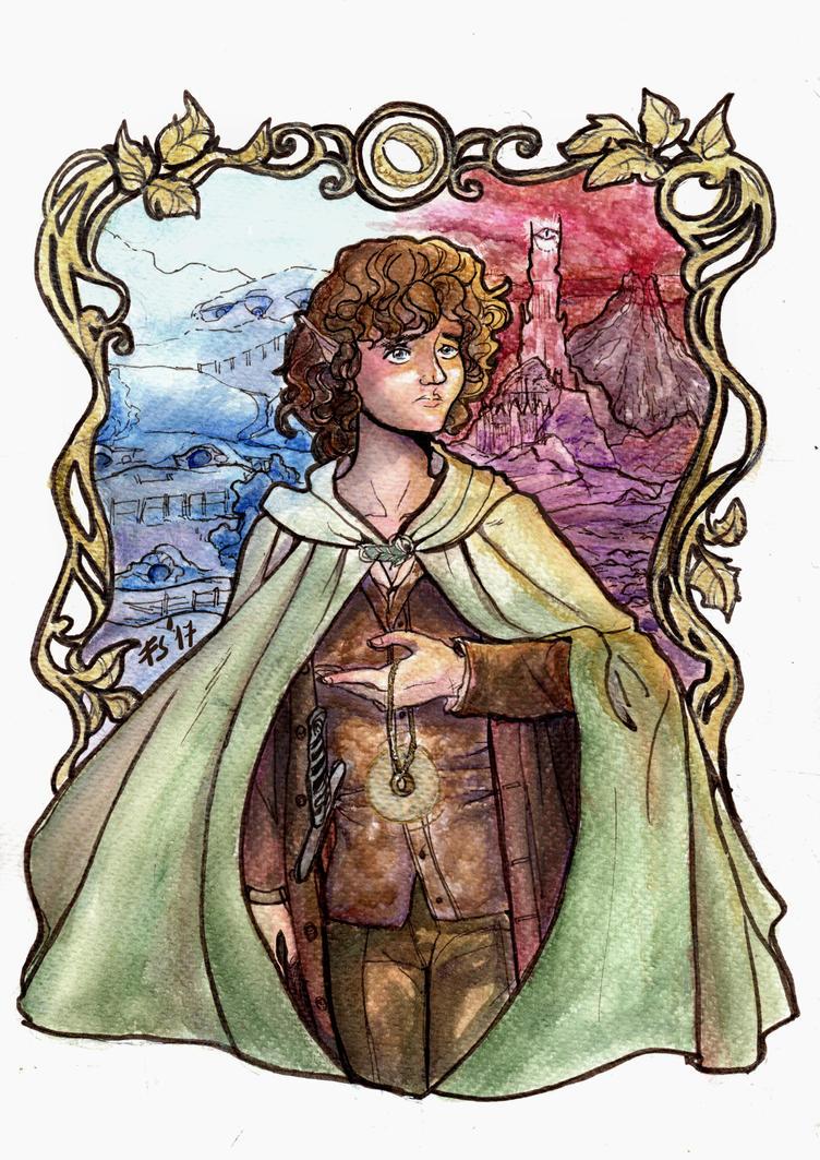 Frodo's Journey by fiorellasantana