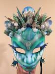 Element of water mask Atlantean