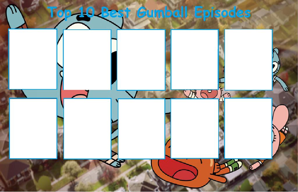 top ten best gumball episodes template by sonic2125 on deviantart