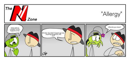 The N-Zone - Allergy (Comic)  by CloudeeStickLizzerd