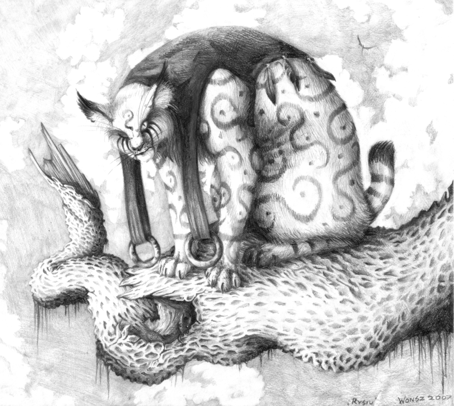 The Lynx - Rysiu by Wezyk