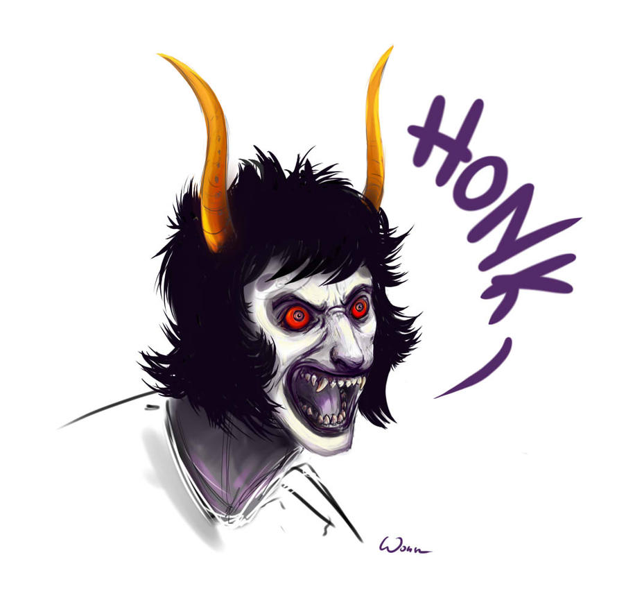 Sober Gamzee HONK by Wezyk on DeviantArt