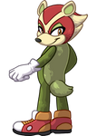 Apple the Badger