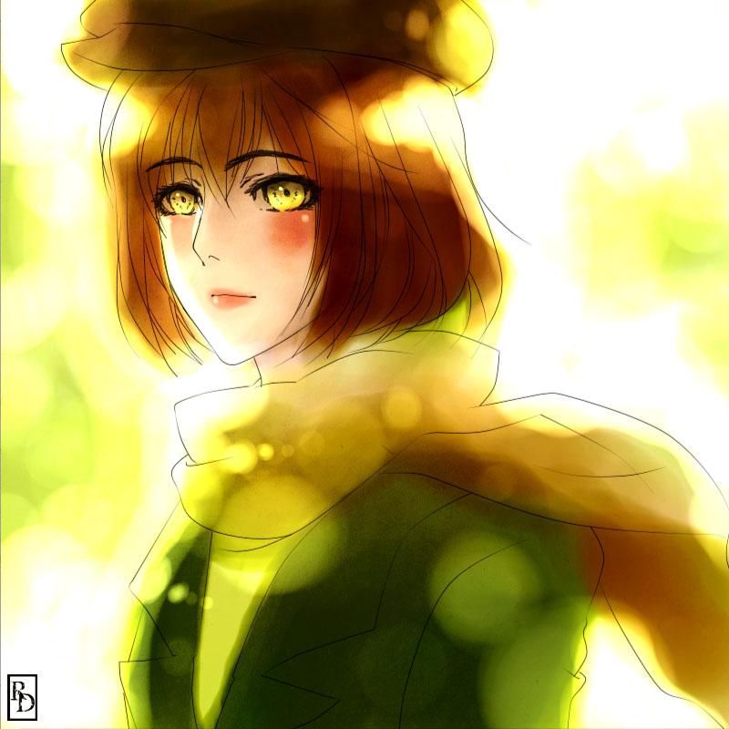 Pretty in Green by ROSEL-D