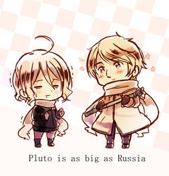 Pluto and Russia
