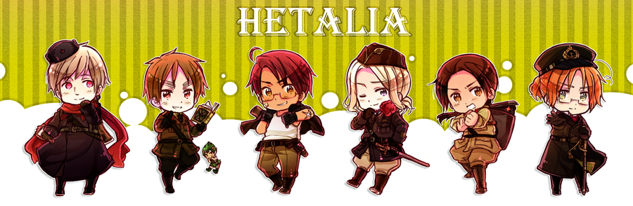 Hetalia Allies [Alternate Colour] by ROSEL-D