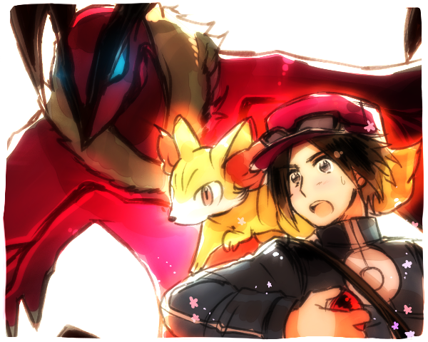 Pokemon Y by ROSEL-D
