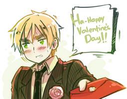 H-happy Valentine's...