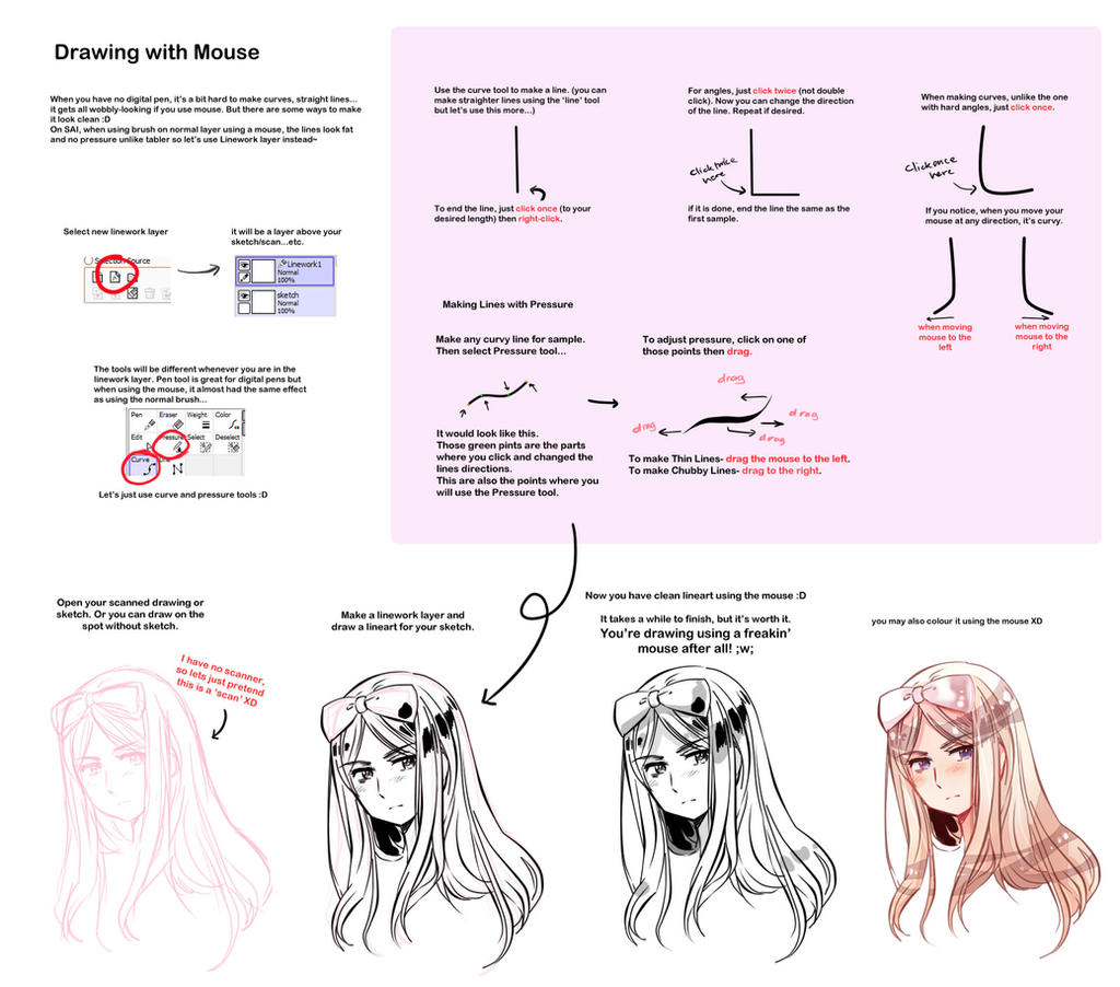 Drawing Lines With Mouse In Java : Drawing with mouse by cioccolatodorima on deviantart