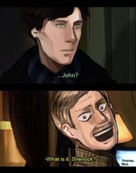 What is it, Sherlock? by Cioccolatodorima