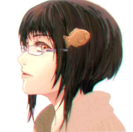 Taiyaki Clip Girl by Cioccolatodorima