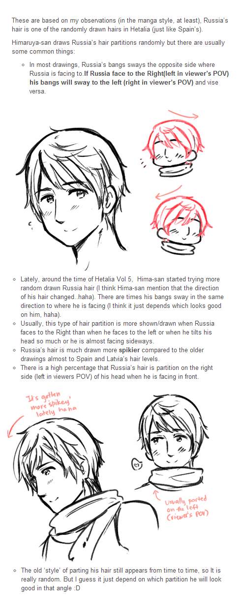 Russia's Hair Reference by ROSEL-D