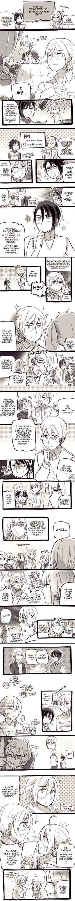 Who do you like? by Cioccolatodorima