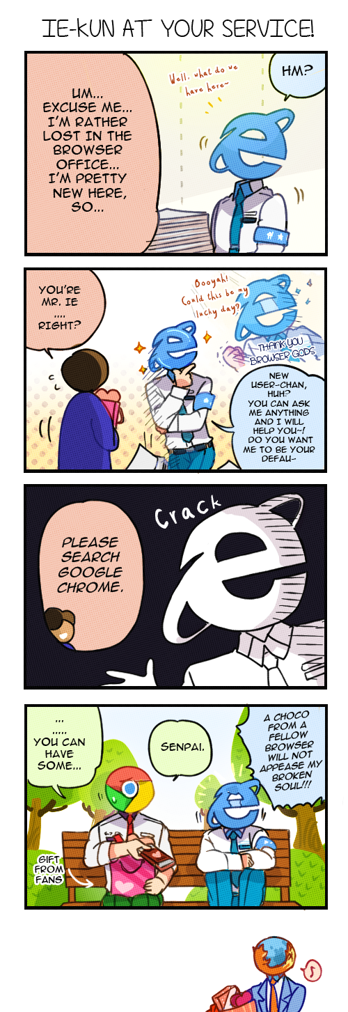 IE-kun's Valentine by ROSEL-D