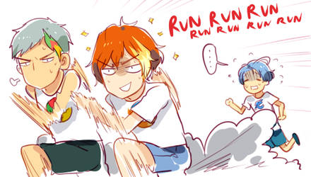 Don't give up, Senpai! by Cioccolatodorima