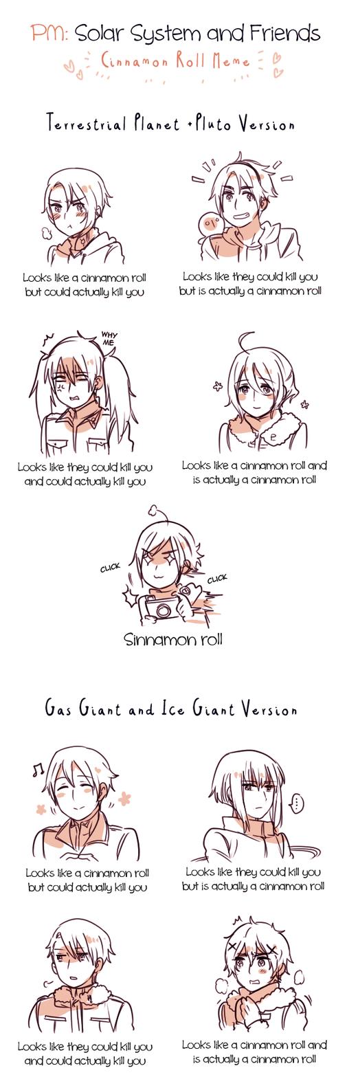 PM: Cinnamon Roll Meme by Cioccolatodorima