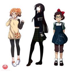 Studio Girls by Cioccolatodorima