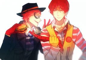 Burger Thief by Cioccolatodorima