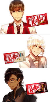 Mr. KitKat Series(1) by Cioccolatodorima