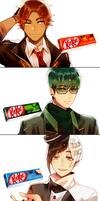 Mr. KitKat Series(2) by Cioccolatodorima