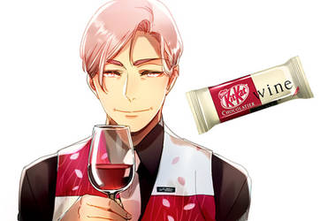 Mr. KitKat Series: Wine by Cioccolatodorima