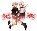 Mr. Kitkat Series: Sakura and Yukimizakura