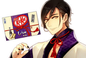 Mr. KitKat Series: Soysauce by Cioccolatodorima