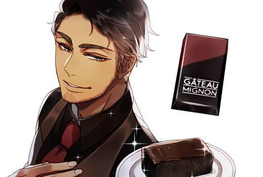 Mr. KitKat series: Gateau