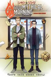 Good Mythical Morning Anime by Cioccolatodorima