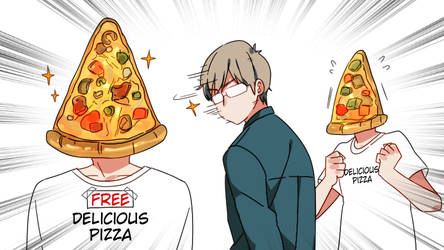Distracted by Pizza