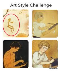 Pre-modern Artstyle Challenge