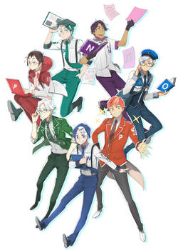 Microsoft Office Danshi Anime?