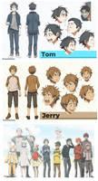 Tom and Jerry Gijinka Anime