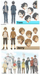 Tom and Jerry Gijinka Anime